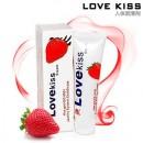 Love kiss 水溶性潤滑液-【草莓100ml】