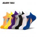 adamtale 运动袜户外男篮球袜船袜